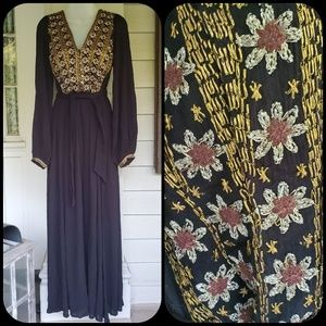 Free People Dresses - 🆕️ Free People Hearts desire maxi Midi dress